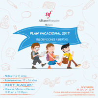 PLAN VACACIONAL 2017