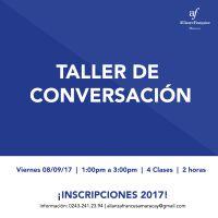 TALLER DE CONVERSACIÓN -